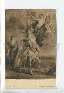 3176962 Marie de Medici France Queen ANGEL by RUBENS Vintage PC