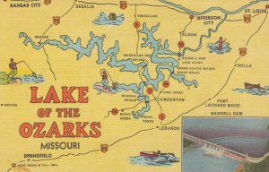Lake of the Ozarks , Missouri , Map , 1930s-40s