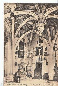 France Postcard - La Benedictine a Fecamp - Musee Interieur de I'Oratoire MB1843