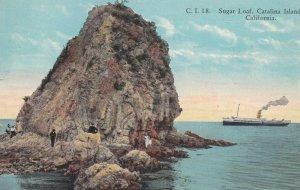 CATALINA ISLAND , California , 00-10s ; Sugar Loaf & Steamship