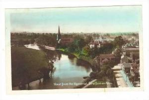 RP, Aerial View, Memorial, Stratford-on-Avon, Warwickshire, England, 1920-1940s
