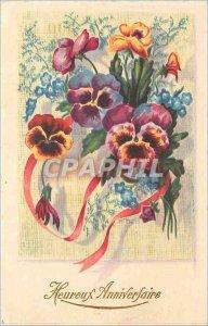 Old Postcard Happy Birthday