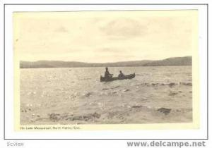 Canoeing On Lake Massawippi, North Hatley, Quebec, Canada, 20-40s