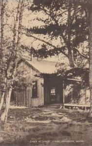 Maine Jefferson Cabins At Sunset Lodge Artvue