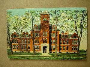 1910 Earlham College Lindley Hall Richmond Indiana INPostcard z0551