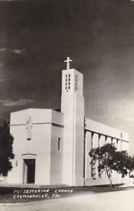 Presbyterian Church Raymondville Texas 1950 Real Photo