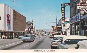 Main Street , PENTICTON , B.C. , Canada , 50-70s