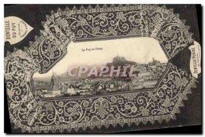 Postcard Old Lace Dentelliere Le Puy en Velay