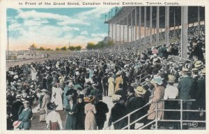 TORONTO , Ontario , Canada , 1900-10s; In Front of the Grand Stand, CNE