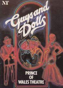 Guys & Dolls London Lulu Prince Of Wales Musical Theatre Programme