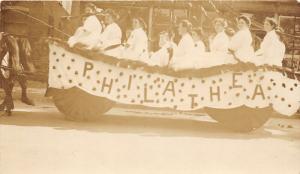 F15/ Parade Real Photo RPPC Postcard Philathea Bible Class Women 14