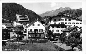 St Anton am Arlberg Gasthof Pension Hotel 1960