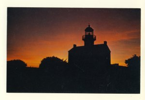 San Diego, California/CA Postcard, Old Lighthouse, Cabrillo Monument, Point Loma