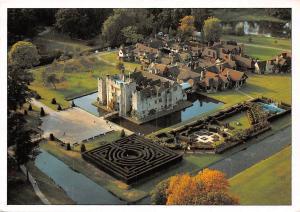 Hever Castle Tudor Village Edenbridge Kent Aerial view