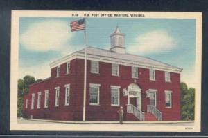 Virginia postcard US Post Office Radford