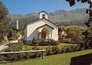 Switzerland Verbier, la chapelle protestante
