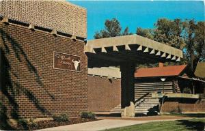 Great Falls Montana~C M Russell Museum of Cowboy Artists~1974 Postcard