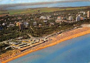 Italy Lignano Pineta Spiaggia Beach Aerial view Panorama