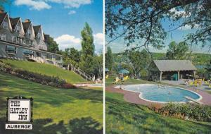 2-Views, The Hatley Inn, Swimming Pool, North Hatley, Quebec, Canada, 1940-1960s