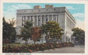 Kansas Topeka Masonic Temple