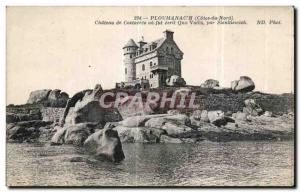 Old Postcard Ploumanach (North Cotes) Chateau de Costaeres or eerit Quo Vadis...