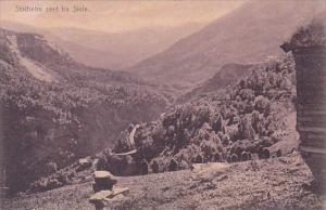 NOrway Stalheim seet fra Sivle