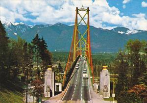 Canada Lions Gate Bridge Vancouver British Columbia