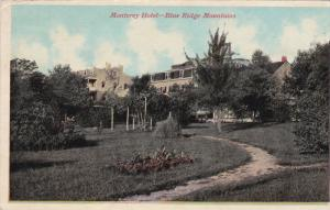 PENNSYLVANIA, PU-1913; Monterey Hotel, Blue Ridge Mountains