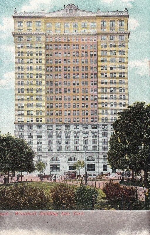 NEW YORK CITY, New York, 1901-1907; Whitehall Building