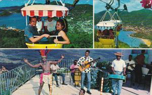 St Thomas Multi View Tram To Top Of The Isle With Calypso Band 1969