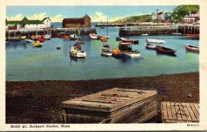 Massachusetts Rockport Harbor Motif Number 1 Curteich