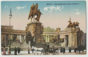 BERLIN NATIONALDENKIMAL KAISER WILHELM I Postkarte