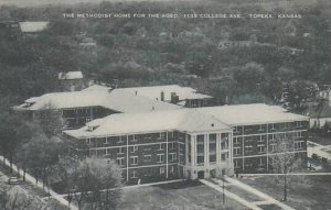Kansas Topeka The Methodist Home For The Aged Artvue
