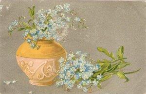 Flowers in Vase Tuck Art Series Postcard # 1759