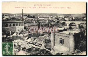 Old Postcard Chateau d & # 39eau Surroundings d & # 39Albi Arthez Deck View E...