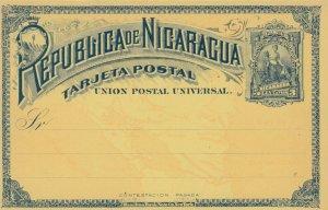 Republica NICARAGUA , Postal Card 1890s-1907 ; #2