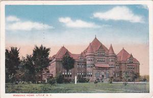 Masonic Home, UTICA, New York, 10-20s