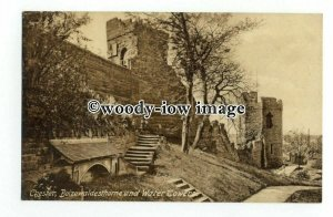 tq2430 - Cheshire - Early View of Boizewaldesthorne and Water Towers - Postcard