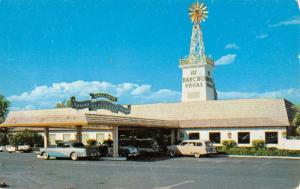Las Vegas Nevada El Rancho Restaurant Street View Vintage Postcard K41759
