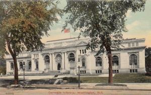 WASHINGTON D.C., 1900-10s ; Carnegie Library