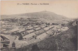 TONKIN, Vietnam, Asia, 1900-1910s; Vue Generale, Phu-Lien