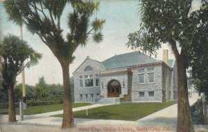 SANTA CRUZ , California , 1907 ; Santa Cruz Public Library