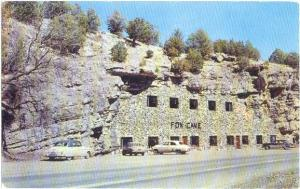 Fox Cave U.S 70 Hollywood New Mexico NM, once used as a hide-out for Billy