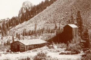 CA - Mammoth. Old Stamp Mill (Doyle's), circa early 1900's  (Reproduction)