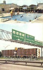 Quality Courts Motel West, Memphis, TN, USA Motel Hotel Postcard Post Card Ol...