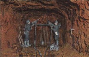 Mines Driving A Rock Drift In A Shaft Mine