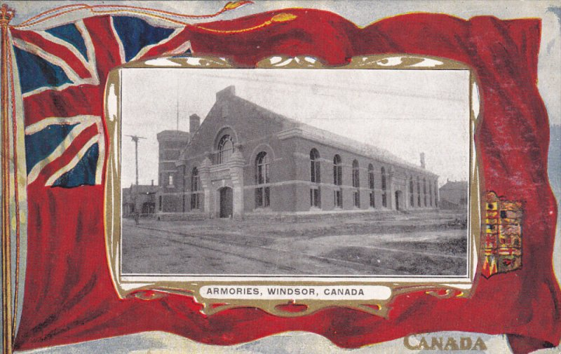 Armories , WINDSOR , Ontario , Canada , PU-1910