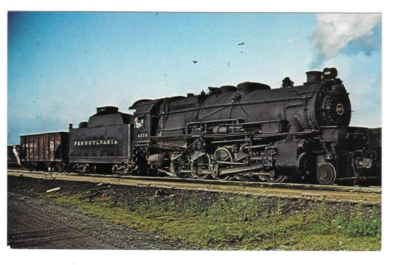 Pennsylvania Railroad PRR Baldwin Decapod Locomotive 4579
