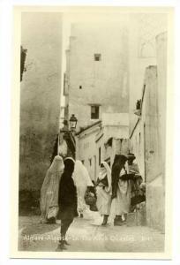 RP; Algiers-Algeria - In the Arab Quarter, 20-40s