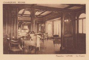 Chargeurs Reunis , LIPARI , Le Fumoir , 1930s